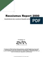 Zara Rassismus Report 2000 - Österreich