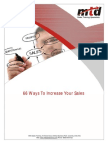 66 Ways to Increase Your Sales