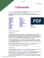 XSLT Elements