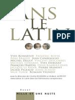Sans Le Latin...(Drm Free)