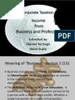 Presentation on Busi. & Prof.