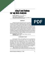 Integrating R and Hadoop for Big Data Analysis