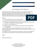dfw management agreement 75-8