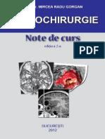 Neurochirurgie. Note de Curs. 2nd