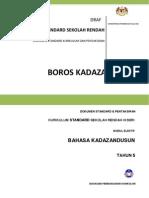 Dokumen Standard Kurikulum Dan Pentaksiran Bahasa Kadazandusun Tahun 5