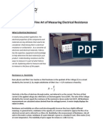 FAB Resistivity White Paper