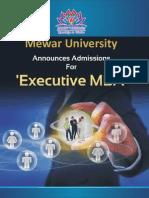 Executive MBA Folder Latest