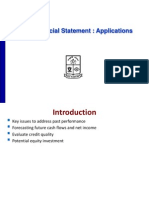 Financial Statment Analysis Application