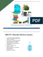 Bluetooth Speaker Catalog