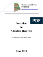 Place Miller, Rebecca - Nutrition in Addiction Recovery Report