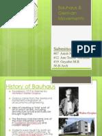 Bauhaus and German Movements PPT SBMISN (1)