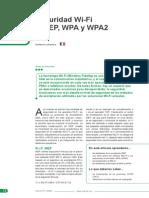 Seguridad WEP y WAP