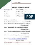 Microsoft Certified IT Professional Read