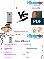Apple iPhone 6 vs Motorola Moto G