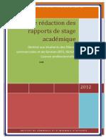 Guide de Redaction Des Rapp