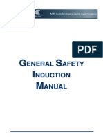 General Safety Induction Manual
