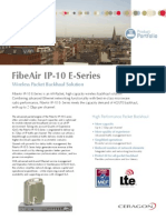 Ceragon Brochure FibeAir IP-10E Series