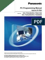 Descargaspla Pla Centrales Digitales 600 Lineas Kx Tda200bx Manual de Usuario Pc_programming_manual
