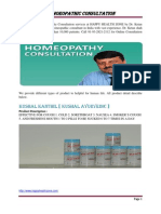 Homeopathy Consultation