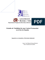 Estudio Viabilidad Planta Termosolar Rovira i Virgili