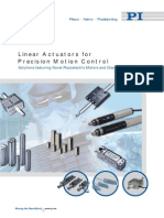 Linear Actuators for Precision Motion Control