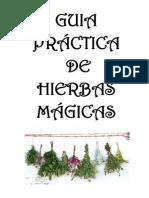 HIERBAS MAGICAS