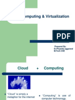 98546470 Cloud Computing and Virtualization