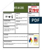 Ficha 169 Floculante Ar-2305