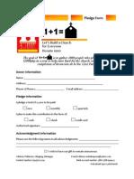pledgeform