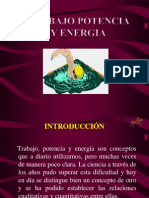 Trabajo y Energia. Ensayo
