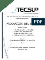 Produccion Del Sillao - Rubrica