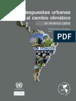 Respuestas Urbanas Al Cambio Climatico IAI CEPAL