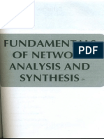 Fundamentals of Network Analysis Synthesis
