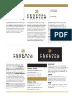 Federal Premium Logo Usage