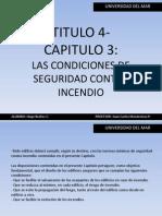 Resumen, Normativa de Incendio Chile