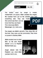 Islamic Studies Worksheet 2.3 Iman - The Angels