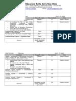 Lista de Avaliaã‡Ãƒo e Trabalhos Bimestrais 2014