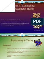 Theories of Counseling:Psychoanalytic Theory