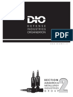 DIO (Defence Industries Organisation) ammunition Catalogue Iran