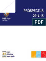 Prospectus for MBA college admission