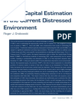 COC Estimation in Current Environment Grabowski Copy