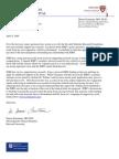 Denise Faustman Letter Re