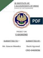 E-banking by Ruchi