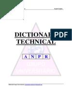 Diccionario Tecnico Ingles-Ingles