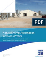 Aquaculture Automation Increases Profits at NaturalShrimp Facility