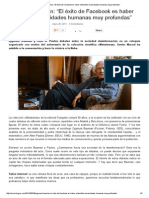 Zygmunt Bauman_ _El Éxito de Facebook Es Haber Entendido Necesidades Humanas Muy Profundas
