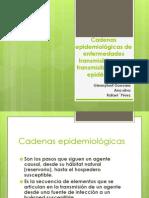 Cadenas Epidemiológicas de Enfermedades Transmisibles y No Transmisible
