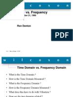 Time vs Freq Domain