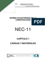 1. Cargas y Materiales
