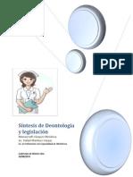 Síntesis de Deontología y Legislación